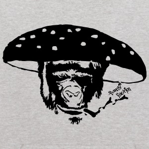 Smokin' Monkey Mushroom - Fungi Faction - Kids' Hoodie