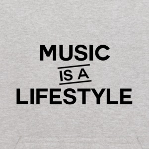 Music is a Lifestyle Design - Kids' Hoodie
