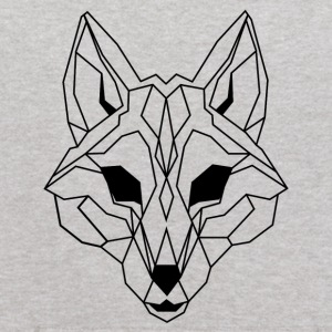 Lineart of a wolf / wolf transparent - Kids' Hoodie