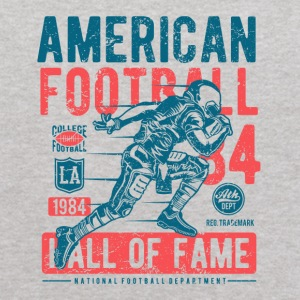 American Football Retro Vintage Distressed Design - Kids' Hoodie