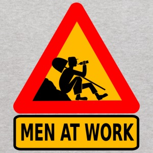 Men at Work Funny Work Shirt Construction - Kids' Hoodie