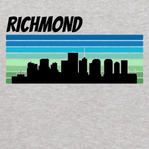 Retro Richmond Skyline - Kids' Hoodie