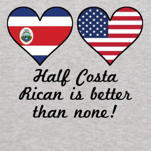 Half Costa Rican Is Better Than None - Kids' Hoodie