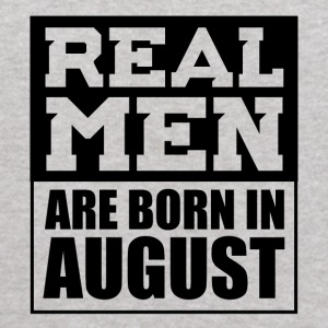 Real Men are Born in August - Kids' Hoodie