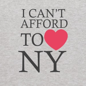 I Can t Afford To Love Ny - Kids' Hoodie