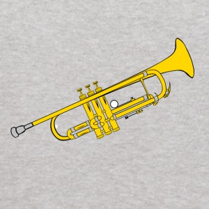 Trumpet Music is fun - Kids' Hoodie