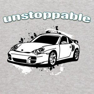 Unstoppable_white_Porche_911 - Kids' Hoodie