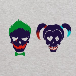 Harley quinn and Joker from suicide squad - Kids' Hoodie