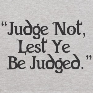 Judge Not Lest Ye Be Judged - Kids' Hoodie