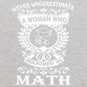 Never Underestimate Woman Who Majored Mathematics - Kids' Hoodie