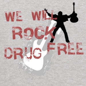 We Will Rock Drug Free Anti-drug proclaimation - Kids' Hoodie