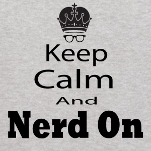 Keep Calm and Nerd on - Kids' Hoodie