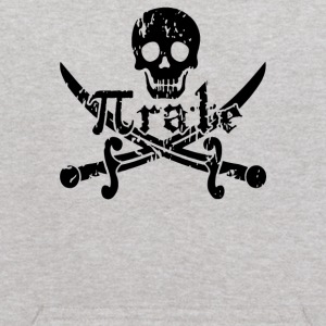 Pirate Skull and Crossbones Math Pi Rate - Kids' Hoodie