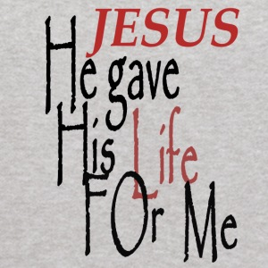Jesus Gave His Life For Me - Kids' Hoodie