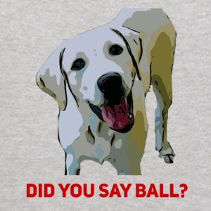 Yellow Lab Did you say Ball - Kids' Hoodie