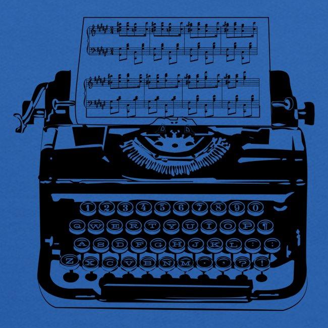 Music Type | Vintage Typewriter