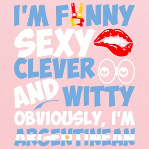 Im Funny Sexy Clever And Witty Im Argentinean - Kids' Hoodie
