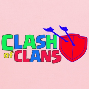 Clash of Clans logo Love - Kids' Hoodie