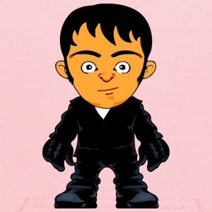 Little Gangster Crime Avatar Comic Style - Kids' Hoodie