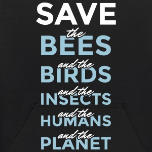 Safe the bees... and the planet! - Kids' Hoodie