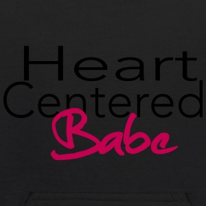 Heart Centered Babe - Kids' Hoodie