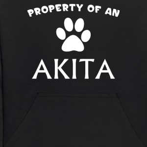 Property of Is Dog - Kids' Hoodie