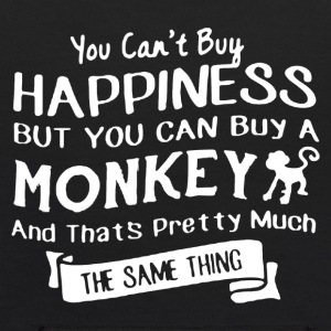 Monkey And Happiness Shirt - Kids' Hoodie