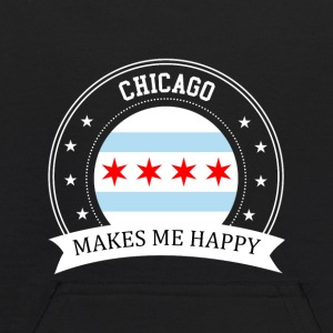 Chicago Makes Me Happy - Kids' Hoodie