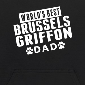 World's Best Brussels Griffon Dad - Kids' Hoodie