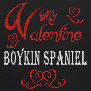 A romantic Valentine with my Boykin Spaniel - Kids' Hoodie