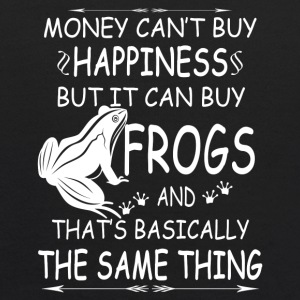 FROGS ARE MY HAPPINESS TEE SHIRT - Kids' Hoodie