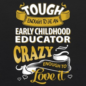 Touch enough to be an early childhood educator - Kids' Hoodie