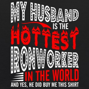 My Husband Is The Hottest Ironworker - Kids' Hoodie