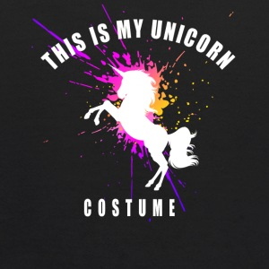 unicorn costume pink romantic girl splash humor lo - Kids' Hoodie