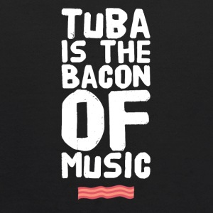 Tuba is the bacon of music - Kids' Hoodie