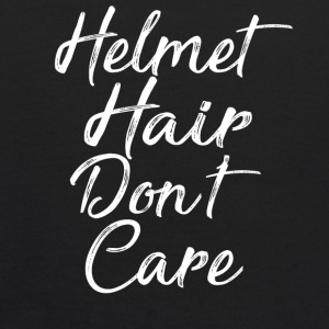 Helmet Hair Don t Care T-Shirt - Kids' Hoodie