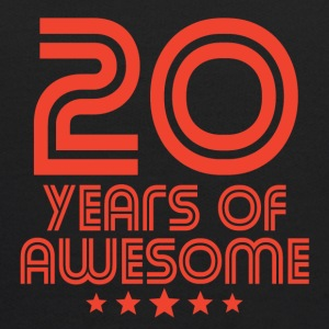 20 Years Of Awesome 20th Birthday - Kids' Hoodie