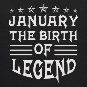 January The Birth of Legend - Kids' Hoodie