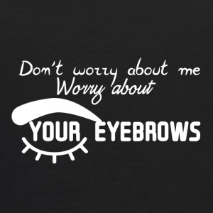 Worry about eyebrows - Kids' Hoodie