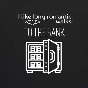 I love long romantic walks to the bank - Kids' Hoodie