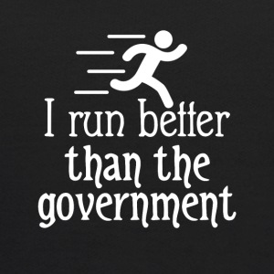 I run better than the government - Kids' Hoodie