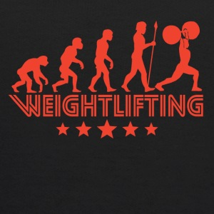 Retro Weightlifting Evolution - Kids' Hoodie