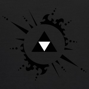 The legend of zelda Triforce vectorized - Kids' Hoodie