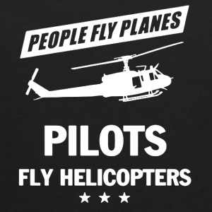 PILOT FLY HELICOPTERS SHIRT - Kids' Hoodie