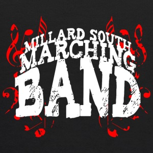 Millard South marching band - Kids' Hoodie