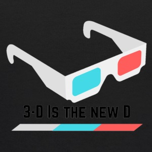 3D IS THE NEW D* - Kids' Hoodie
