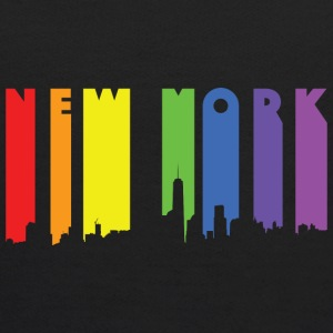 New York design Rainbow - Kids' Hoodie
