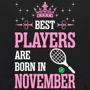 Best Players Are Born In November - Kids' Hoodie