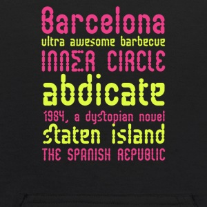 Barcelona ultra awesome barbecue - Kids' Hoodie