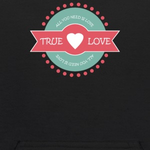 Valentine s Day True Love - Kids' Hoodie